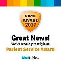 Premio Patient Service Award BORDONCLINIC