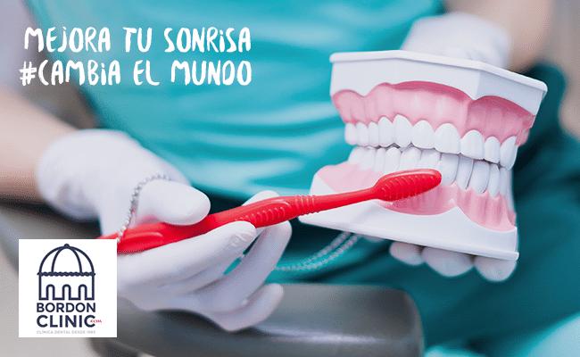 primer paso de una periodoncia Clínica dental Madrid Bordonclinic