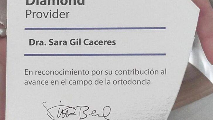 Somos Invisalign Provider Diamond - Dra. Sara Gil - Clínica BordonClinic
